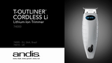 Andis Cordless T-Outliner NEW!!!