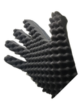 Curl Sponge Glove Black (NEW AND IMPROVED!)