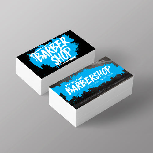 "The ""Graffiti"" Business Card - Blue"