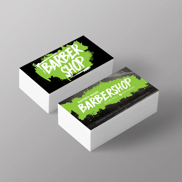 "The ""Graffiti"" Business Card - Green"