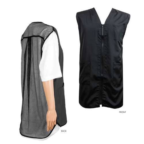 Vincent Barber Vest (Black)