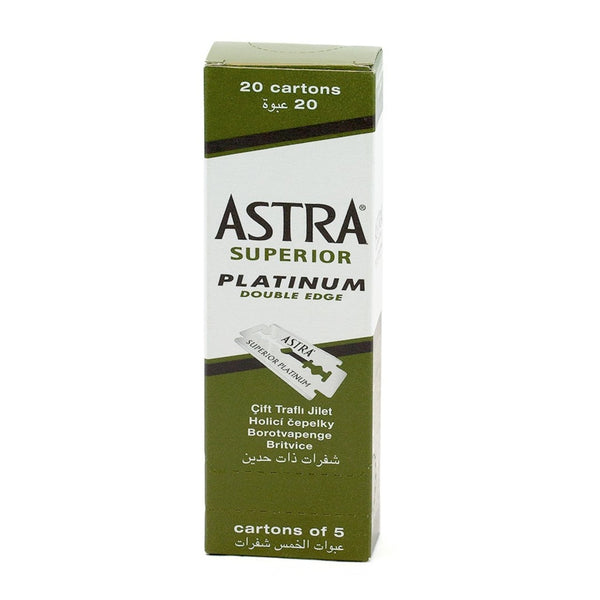 Astra Double Edge Blades 100 CT (Green)