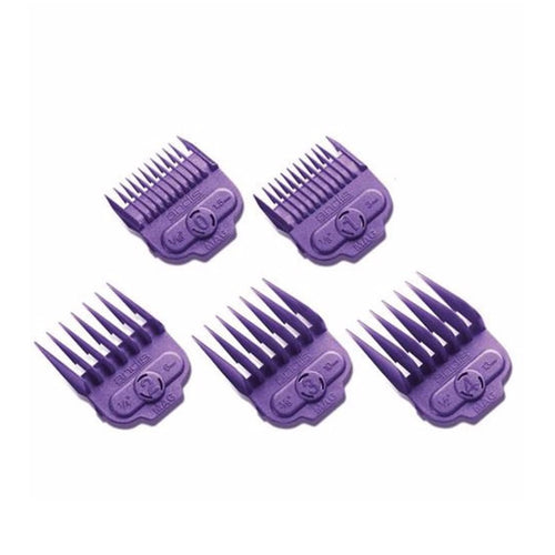 Andis Small Size Comb Guides Pack Of 5