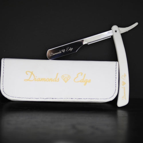 Diamonds Edge Razor ( White )