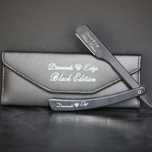 Diamonds Edge Razor ( Black )