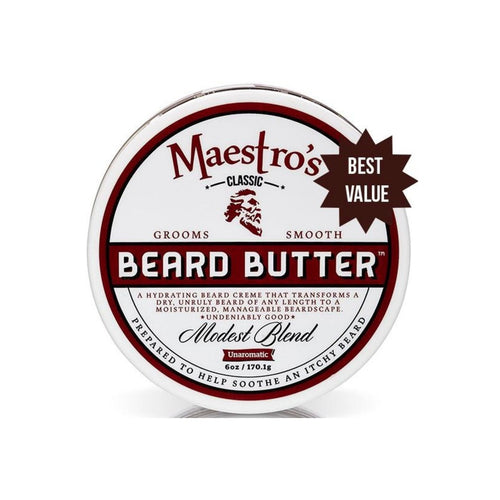 Maestro's Beard Butter - Modest Blend