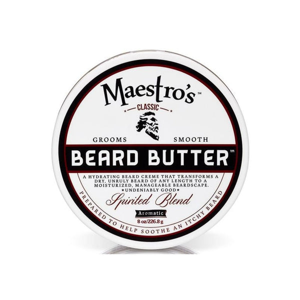Maestro's Beard Butter - Spirited Blend