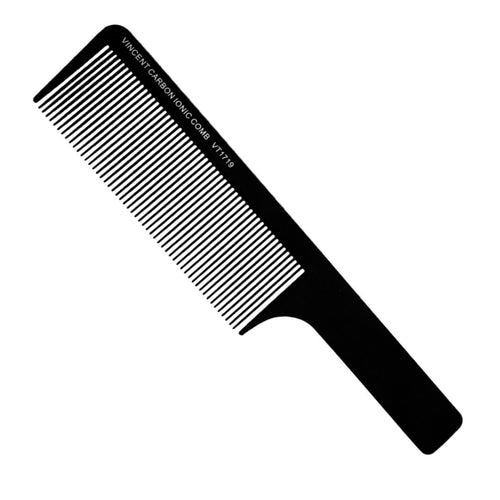 Vincent Carbon Flat Top Comb
