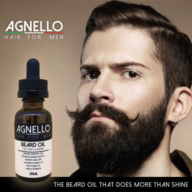 Agnello Hair For Men Beard OIl