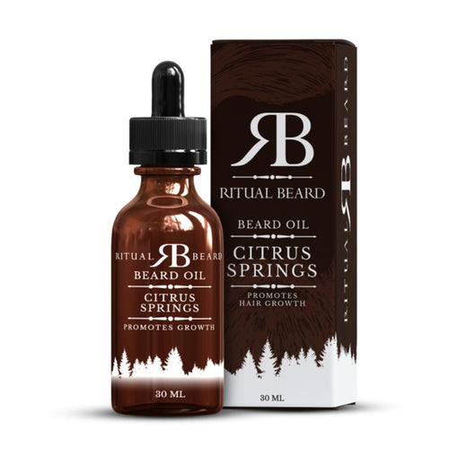 Ritual Beard Oil - Citrus Springs Scent