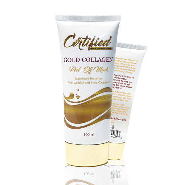 Certified Line Gold Peel Off Mask 100ML