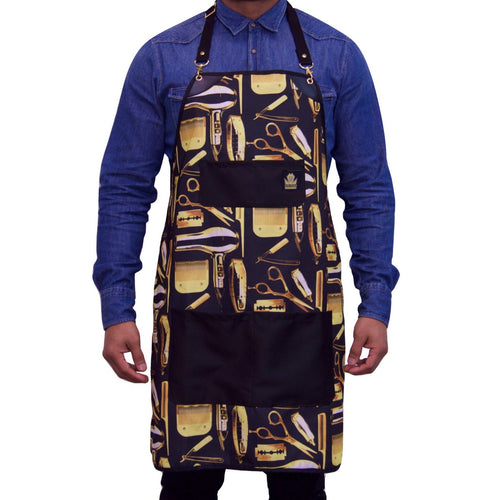 King Midas The 1st Apron (Black/Gold)