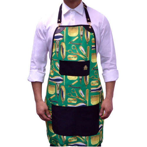 King Midas The Jackpot Apron (Green/Gold)