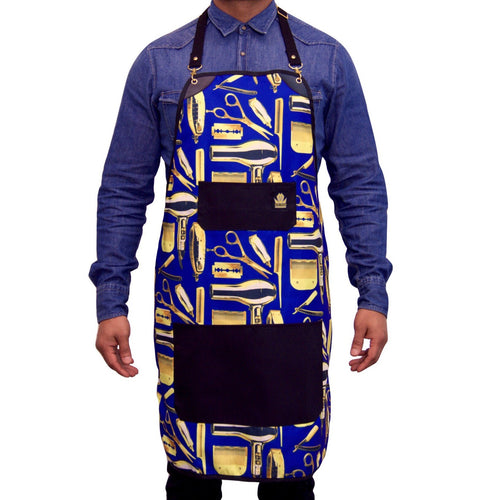 King Midas Blue Magic Apron (Blue/Gold)