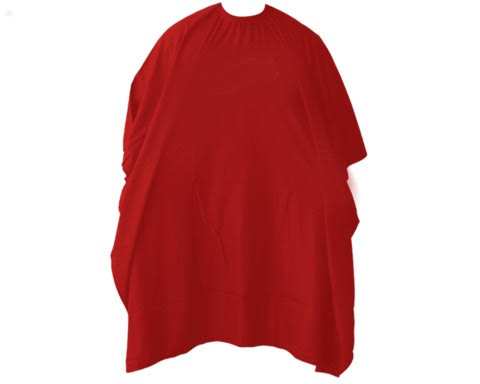 Vincent Classic Cutting Cape (Red)