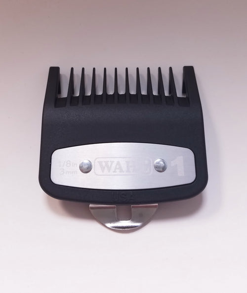 "Wahl Premium Cutting Guide with Metal Clip #1 (1/8""- 3mm)"