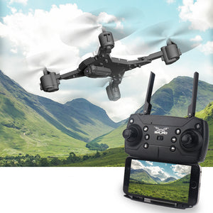 1080p WIFI FPV Camera 2.4g Foldable Mini RC Drone Quadcopter RC Helicopters Set High Floating Automatic Return