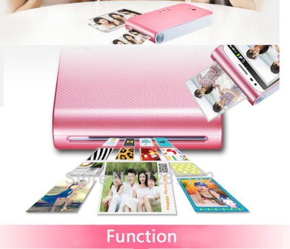 NEW photograph color printer for mobile phone LG inalanbrica Android and iPhone