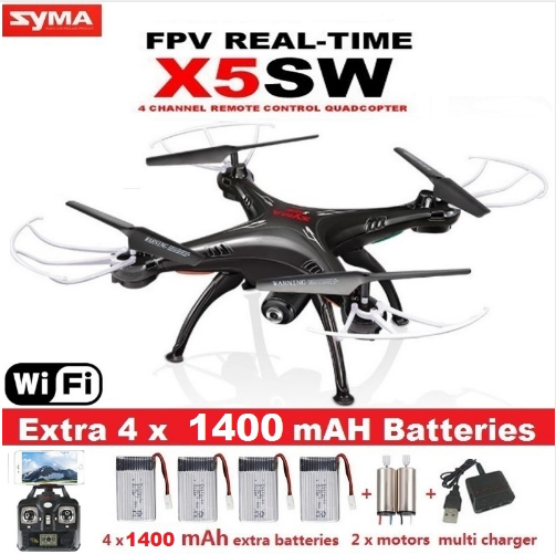Original SYMA X5SW-1 WIFI RC 6-Axis Drone Quadcopter with FPV Real-time