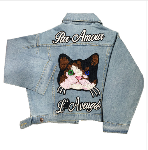 Winter autumn collection jacket for cat lovers