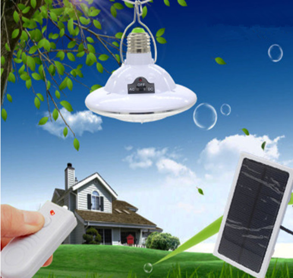 Portable solar lamp for indoor or outdoor use with remote control 50% discount for unlimited time