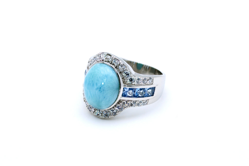 arimar jewelry,larimar rings,larimar crystal,larimar stone,Engagement ring,,Pre-engagement ring