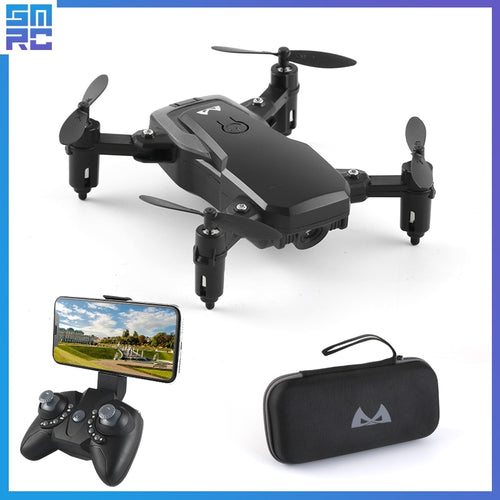 A key high return Hold headless mode Selfie professional helicopter long life foldable battery FPV wifi drone with HD camera
