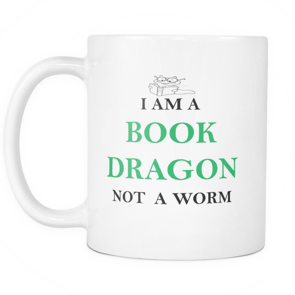I am a book dragon not a worm