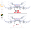 Drone RC camera X5c-Free Shipipping