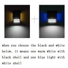 LED Solar Light Outdoor Solar Powered Motion Sensor Security Wall Light Garden Three Modes Bright Lamp