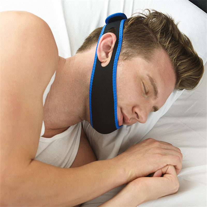 Stop Snoring anti-snore apparatus with anti-snore pillow chin anti-snore head