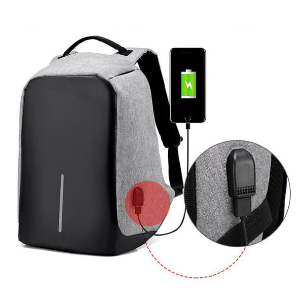 AAntonio™ - Latest Anti-Theft USB-Multifunction Laptop- Charging Travel Backpack