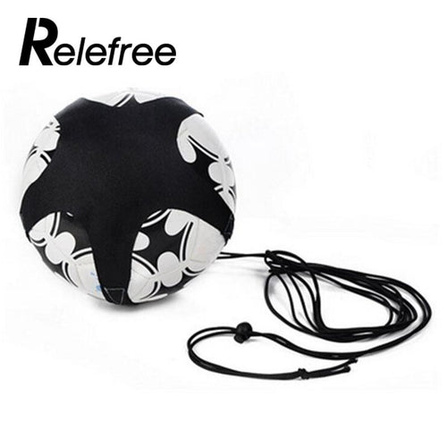 Soccer Ball Juggle Bags Children Auxiliary Circling Belt Kids Football Training Equipment Kick