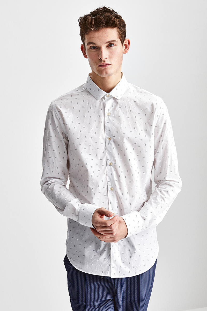 SOFT COTTON PRINT SHIRT
