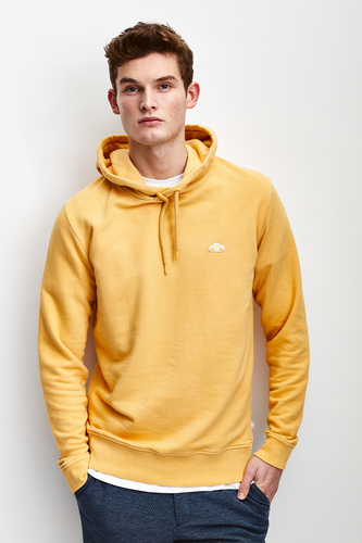 ICONIC CLOUD LOGO PATCHED HOODIE