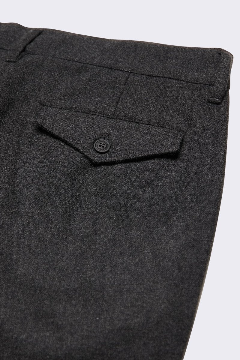 Tapered Cropped Trousers