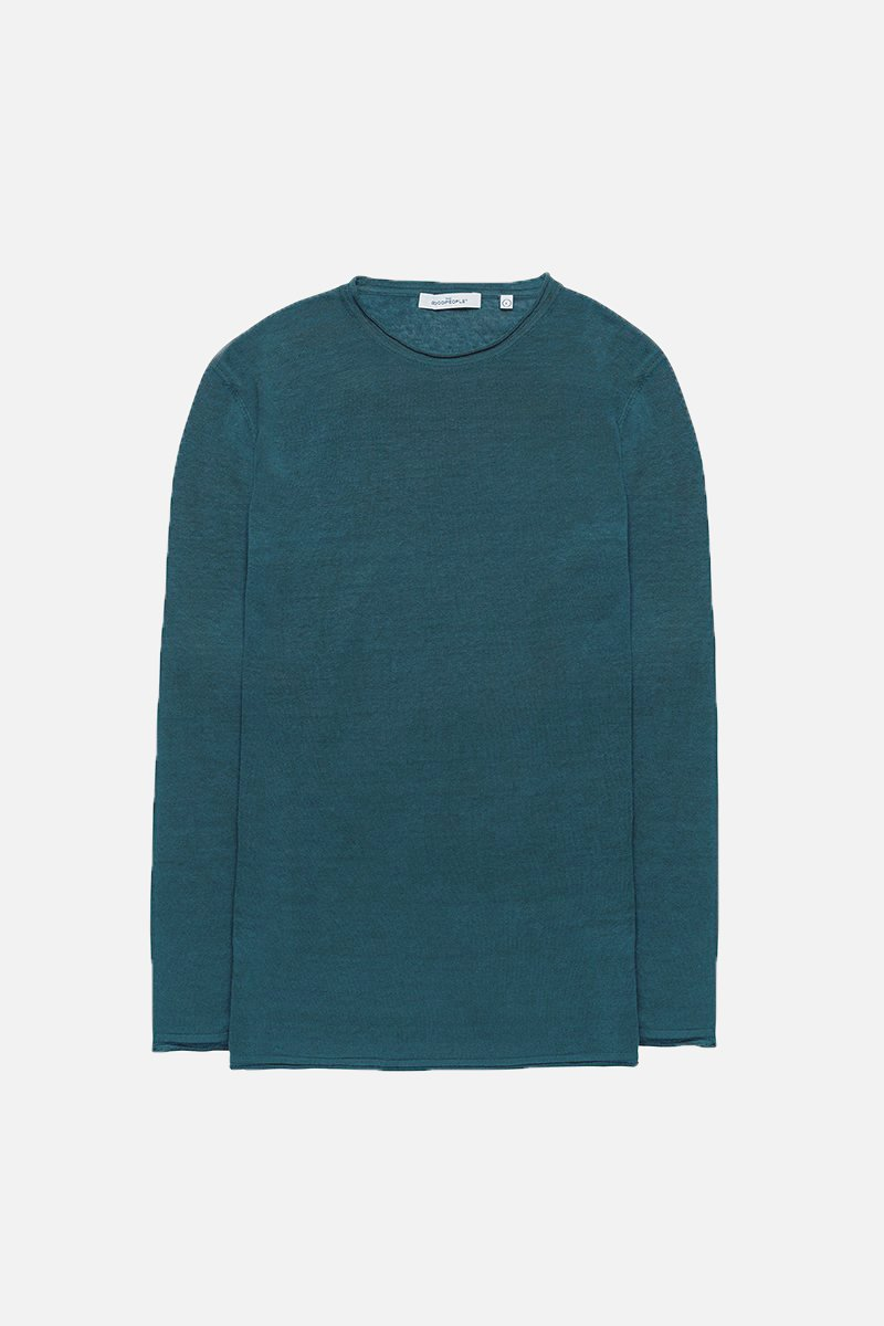 Linen Long Sleeve Knit