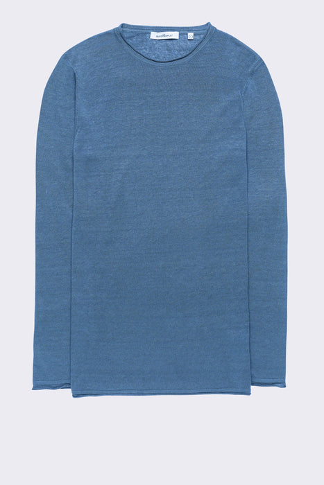 LINEN KNITTED SWEAT
