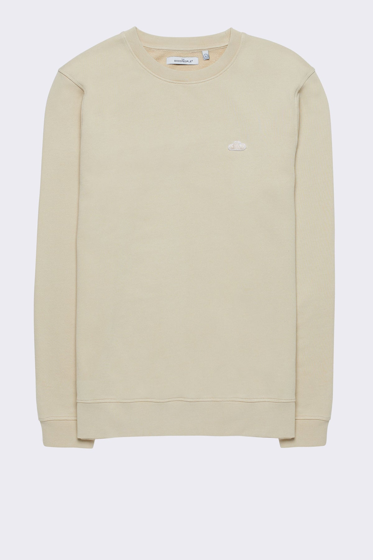 ICONIC LOGO PATCH SWEATER