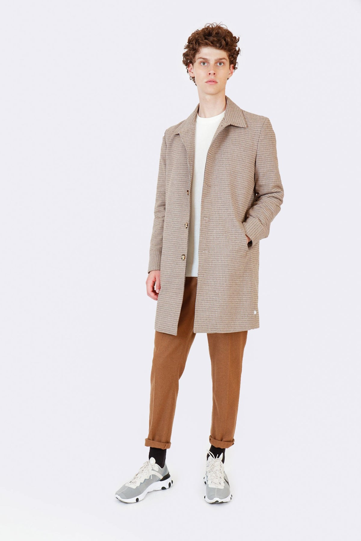 LUXURY WOOL OVERCOAT