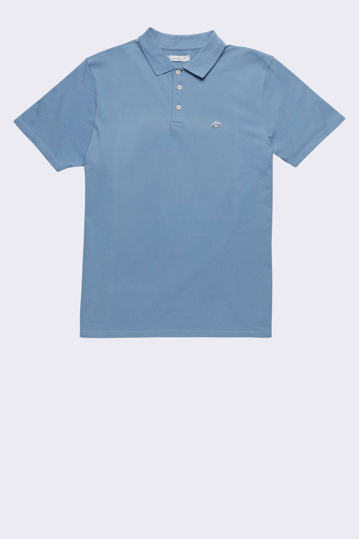 POLO WITH ICONIC CLOUD LOGO