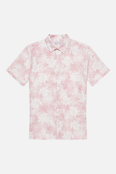 Short Sleeve Linnen Shirt