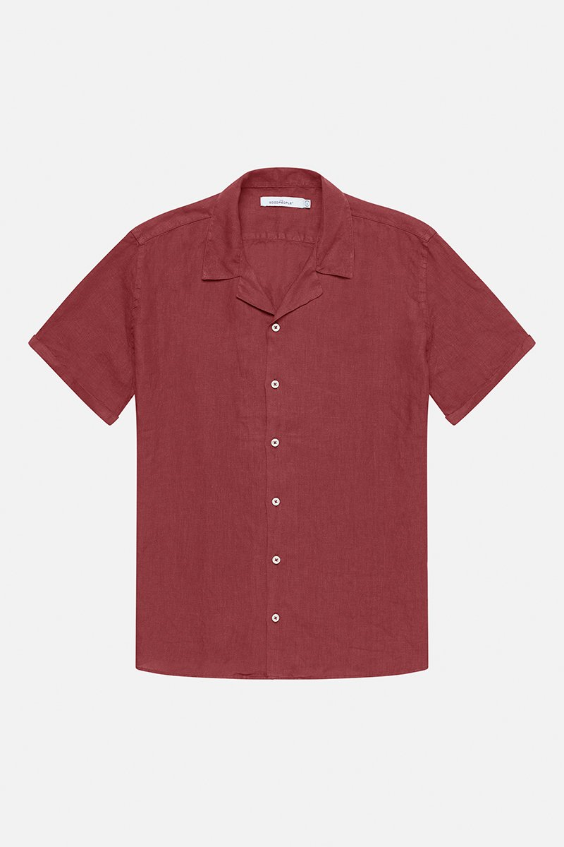 LINNEN SHORT SLEEVED SHIRT