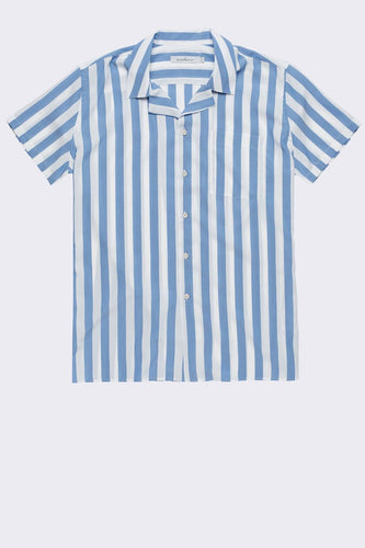 SHORT SLEEVED TENCEL SHIRT