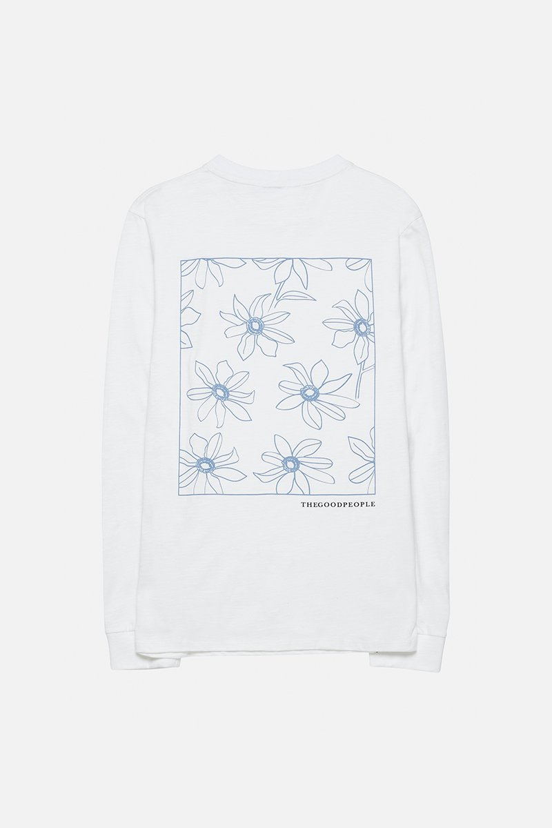 Long Sleeve Tee With Print