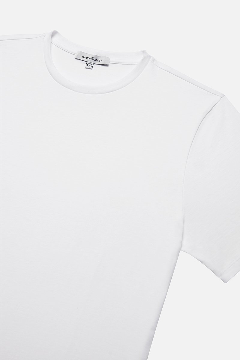 Mercerized Cotton Tee