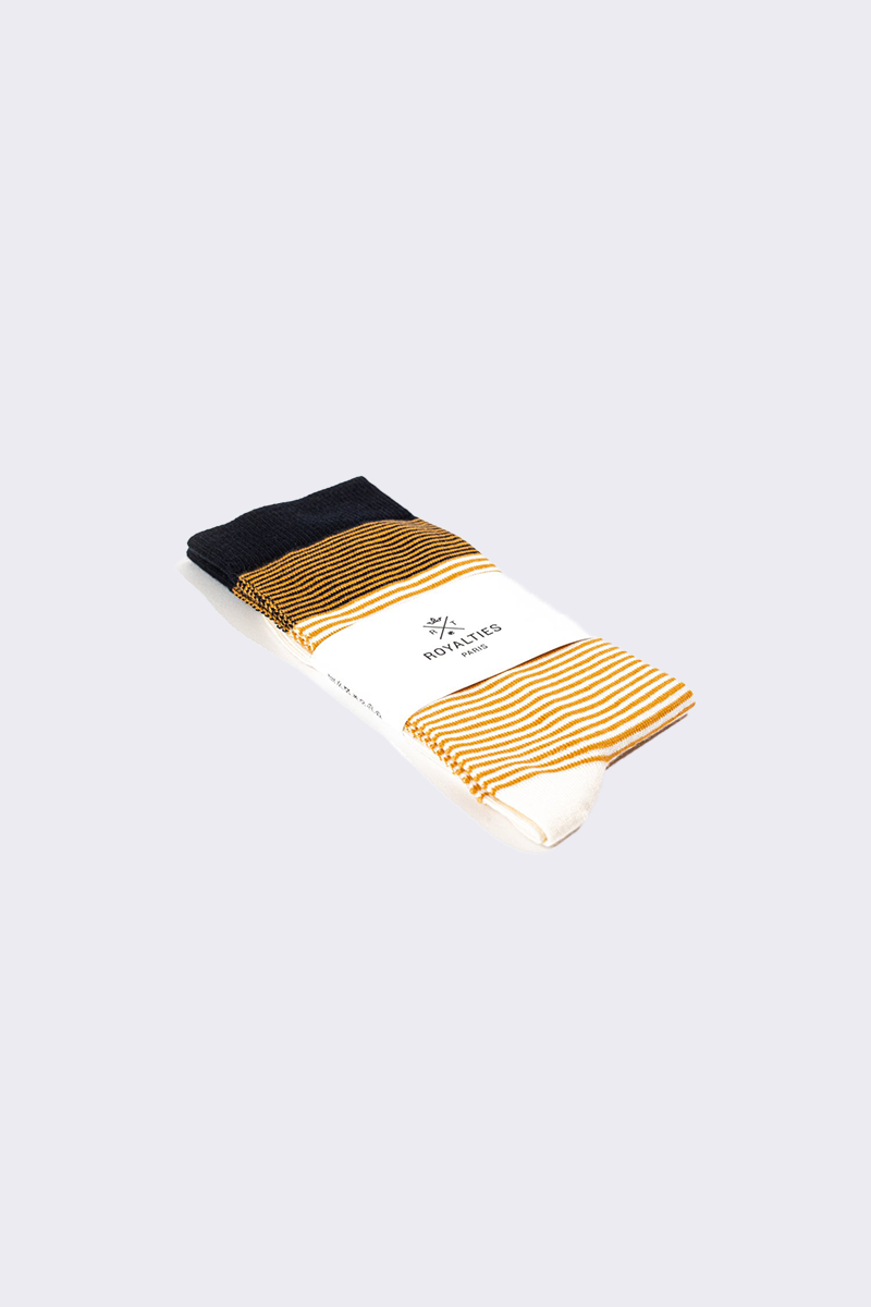 Royalties Paris - Breton Stripes - Ocre