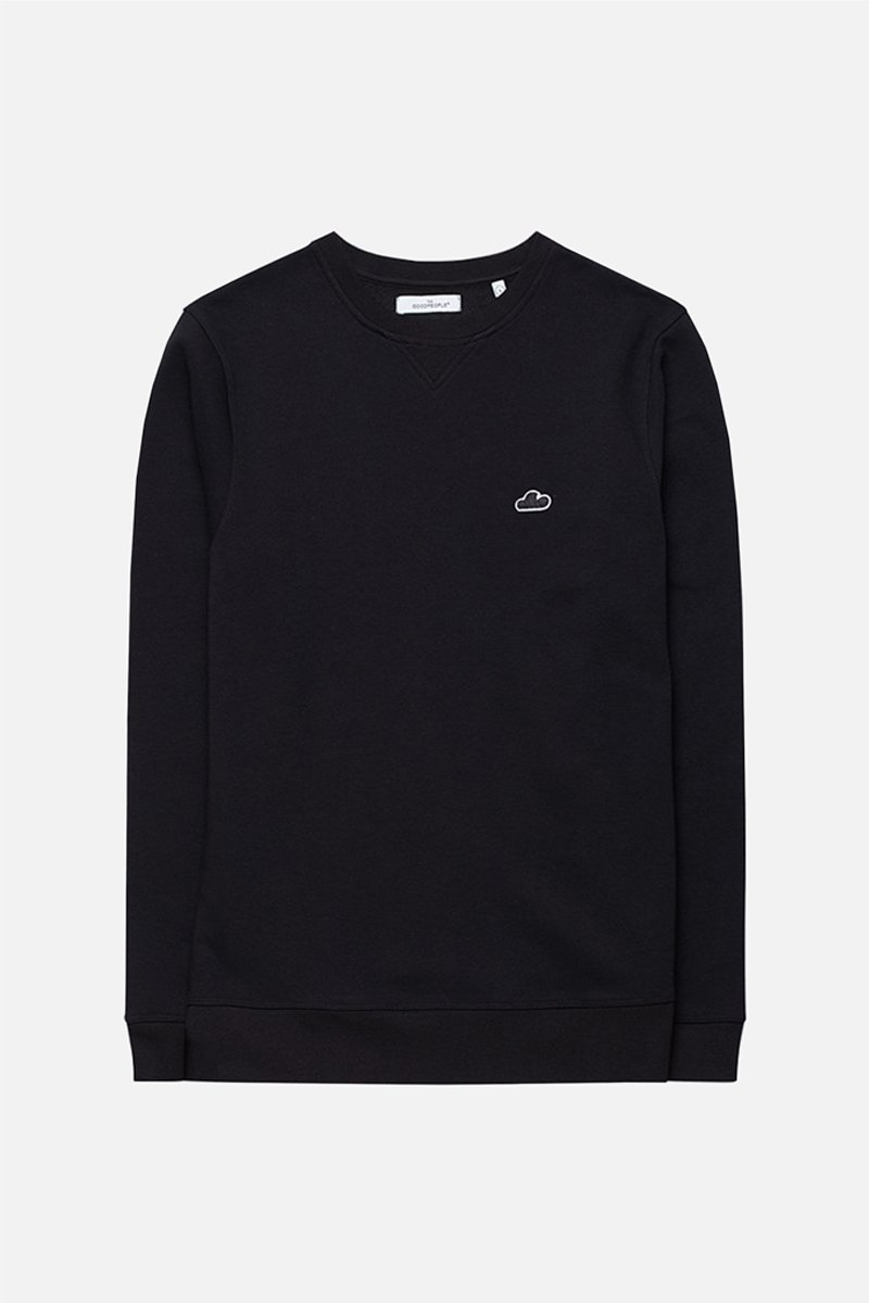Logo patch sweater