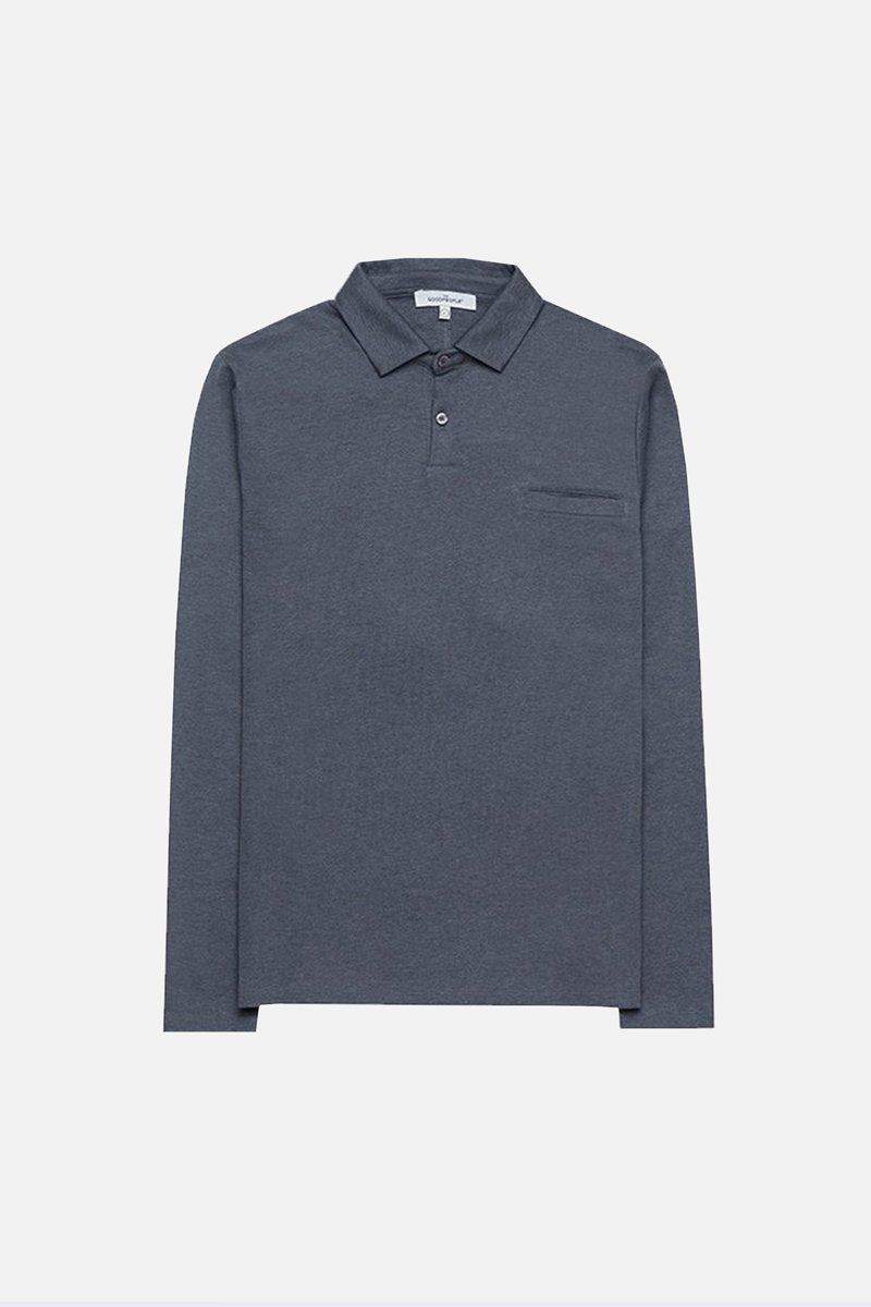 Luxurious Long Sleeve Polo