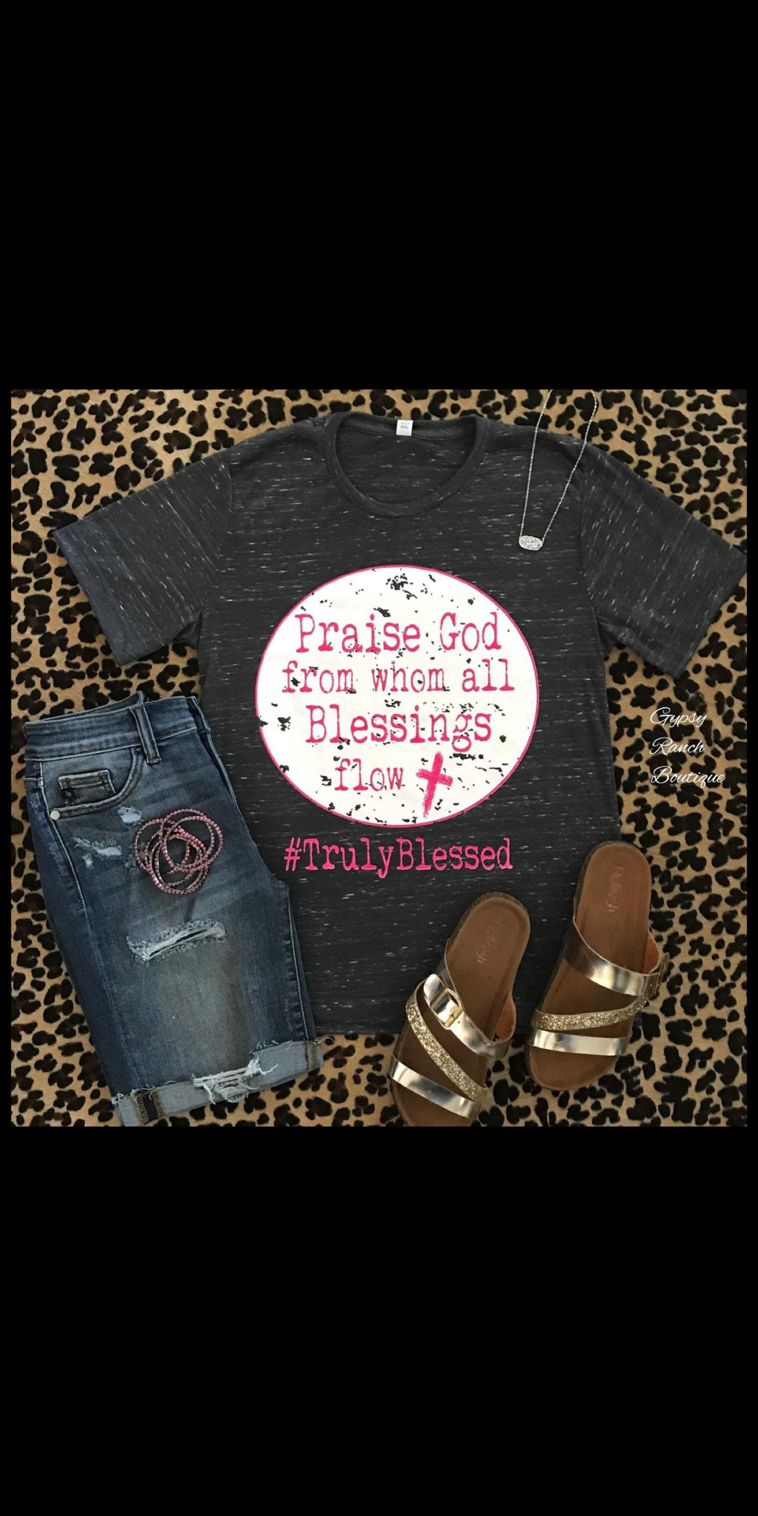Praise God from Whom All Blessings Flow Top - Also in Plus Size